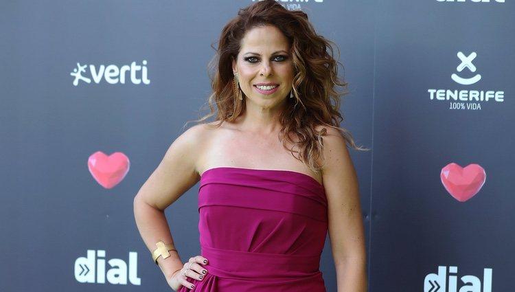 Pastora Soler en los Premios Cadena Dial 2019 en Tenerife