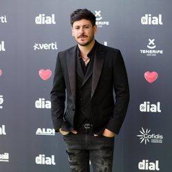 Cepeda en los Premios Cadena Dial 2019 en Tenerife