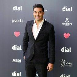 Carlos Rivera en los Premios Cadena Dial 2019 en Tenerife