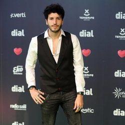 Sebastián Yatra en los Premios Cadena Dial 2019 en Tenerife