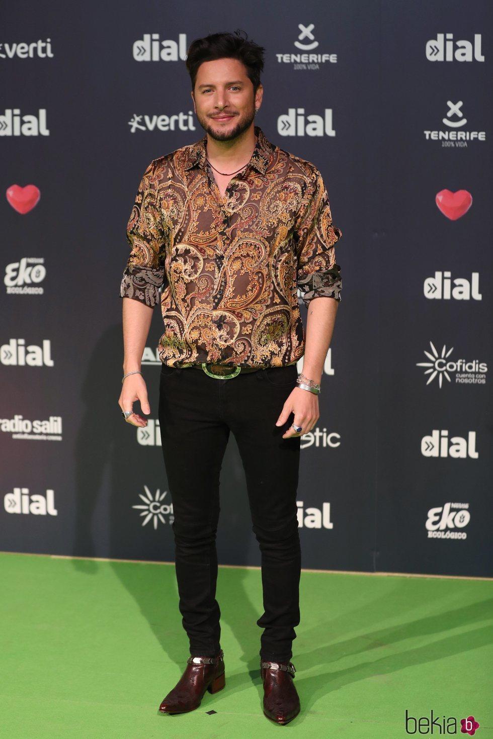Manuel Carrasco en los Premios Cadena Dial 2019 en Tenerife
