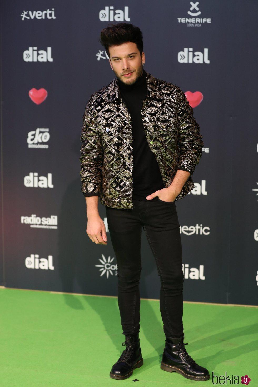 Blas Cantó en los Premios Cadena Dial 2019 en Tenerife