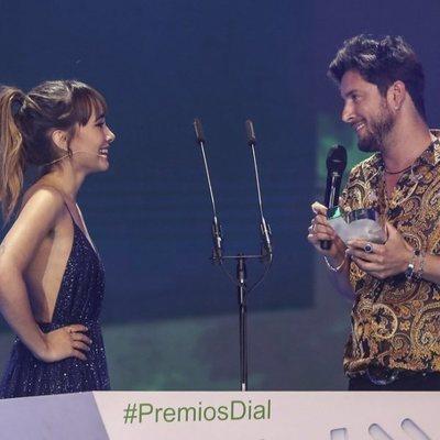 Aitana Ocaña y Manuel Carrasco en los Premios Cadena Dial 2019 en Tenerife