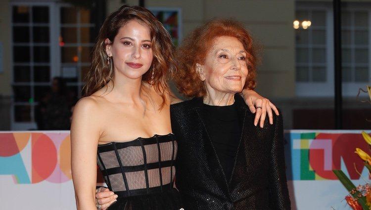 Irene Escolar y Julia Gutierrez Caba en el Festival de Cine de Málaga 2019