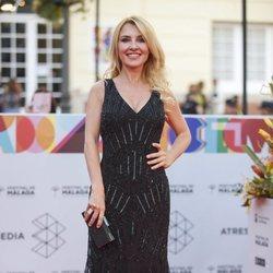 Cayetana Guillen en la alfombra roja del Festival de Cine de Málaga 2019