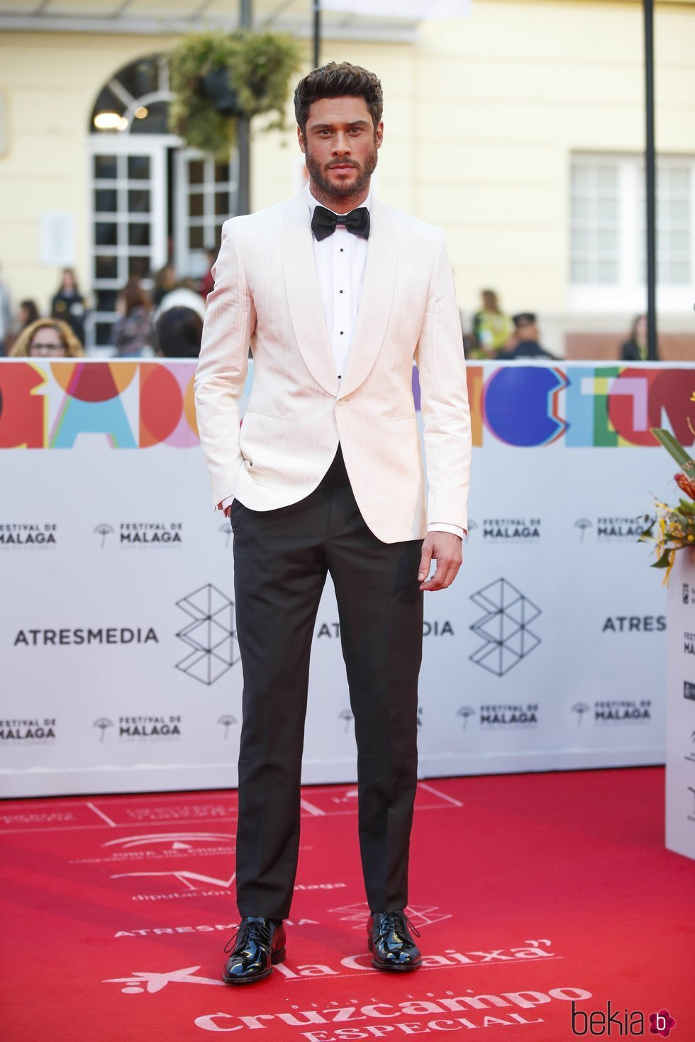 Jose Lamuño en la alfombra roja del Festival de Cine de Málaga 2019