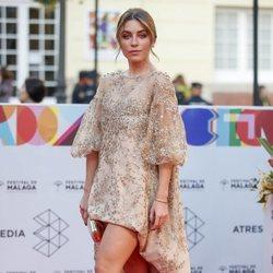 Natalia Cebrian en la alfombra roja del Festival de Cine de Málaga 2019
