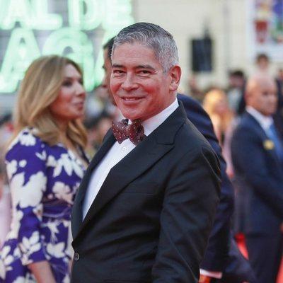 Boris Izaguirre en la alfombra roja del Festival de Cine de Málaga 2019