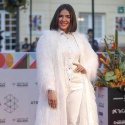 Marta Sango en la alfombra roja del Festival de Cine de Málaga 2019