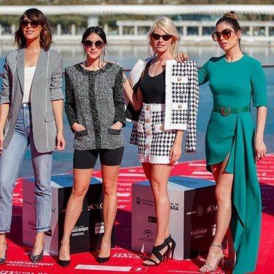 Belén Cuesta, Macarena García, Amaia Salamanca y Blanca Suárez en el Festival de Cine de Málaga 2019
