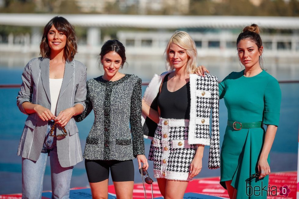 Elenco 'A pesar de todo' en el Festival de Cine de Málaga 2019