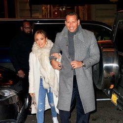 Jennifer Lopez y Alex Rodríguez paseando su amor por Nueva York tras comprometerse
