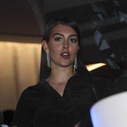 Georgina Rodríguez en la fiesta de inauguración de 'Insparya'