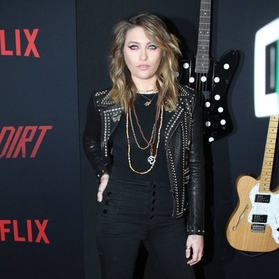 Paris Jackson en el estreno de 'The Dirt'