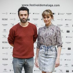 Rodrigo Sorogoyen y Marta Nieto en el Festival de Cine de Málaga 2019