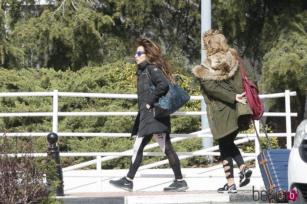 María Patiño y Mila Ximénez  visitan a Jorge Javier en el hospital