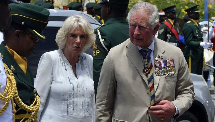 El Príncipe Carlos de Inglaterra y Camilla Parker en Barbados