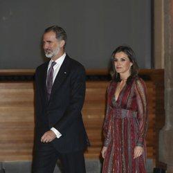 El Rey Felipe VI y la Reina Letizia acuden a la entrega de Premios Nacionales de Cultura 2019