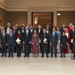Los Reyes Felipe VI y Letizia acuden a la entrega de los Premios Nacionales de Cultura 2019