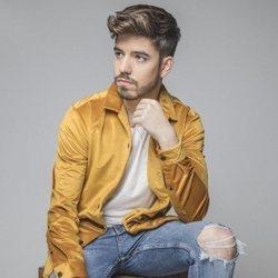 Roi Méndez posa para su disco 'Mi lógico desorden'