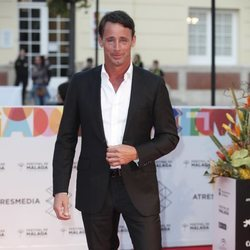 Álvaro Muñoz Escassi en la alfombra roja del Festival de Málaga 2019