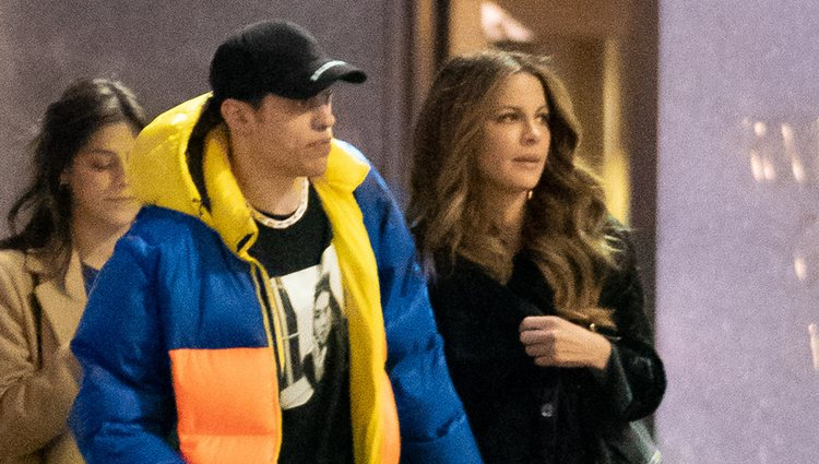 Pete Davidson y Kate Beckinsale en New York