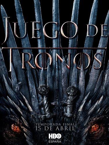 Poster definitivo de la última temporada de 'Juego de Tronos'