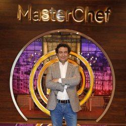 Pepe Rodríguez en la presentación de 'MasterChef 7'