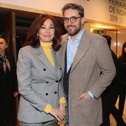 Ana Rosa Quintana y Màxim Huerta en los premios Primavera de Novela 2019