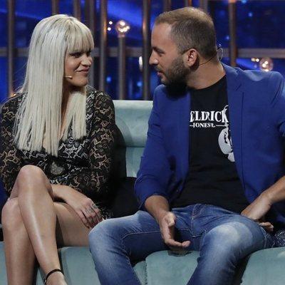 Ylenia Padilla y Antonio Tejado en la gala 12 de 'GH DÚO'