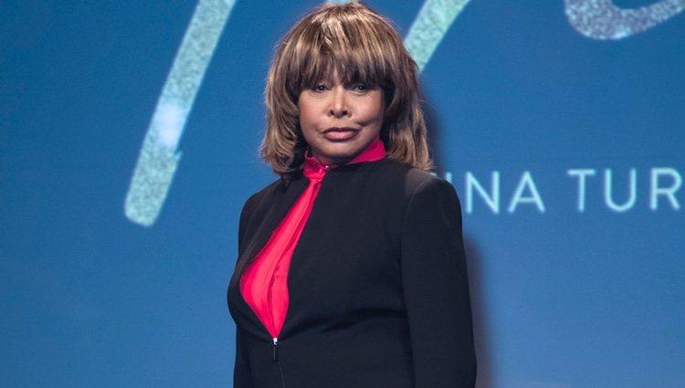 Tina Turner en la presentación del musical 'Tina'