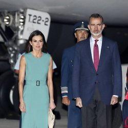 Los Reyes Felipe VI y Letizia en Argentina