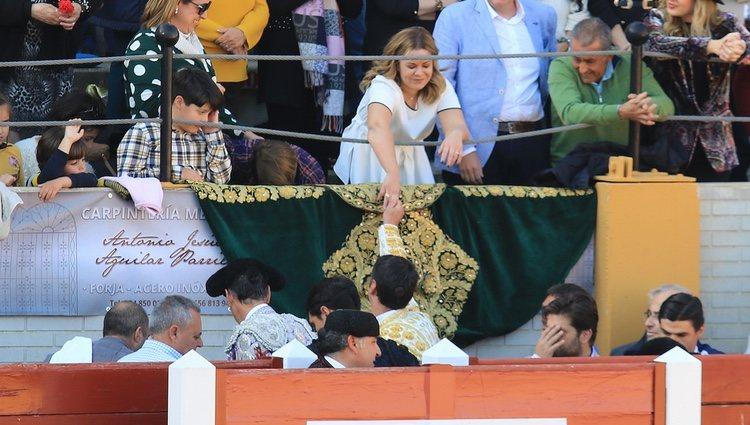 Jesulín de Ubrique tiene un precioso detalle con María José Campanrio en su regreso a los ruedos