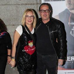 Belén Rodríguez y Fernando Acaso en la fiesta de cumpleaños de la colaboradora