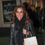 Carmen Alcayde en el cumpleaños de Belén Rodríguez