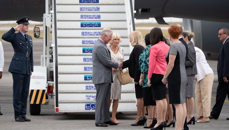 El Príncipe Carlos y la Camilla Parker llegan a Cuba