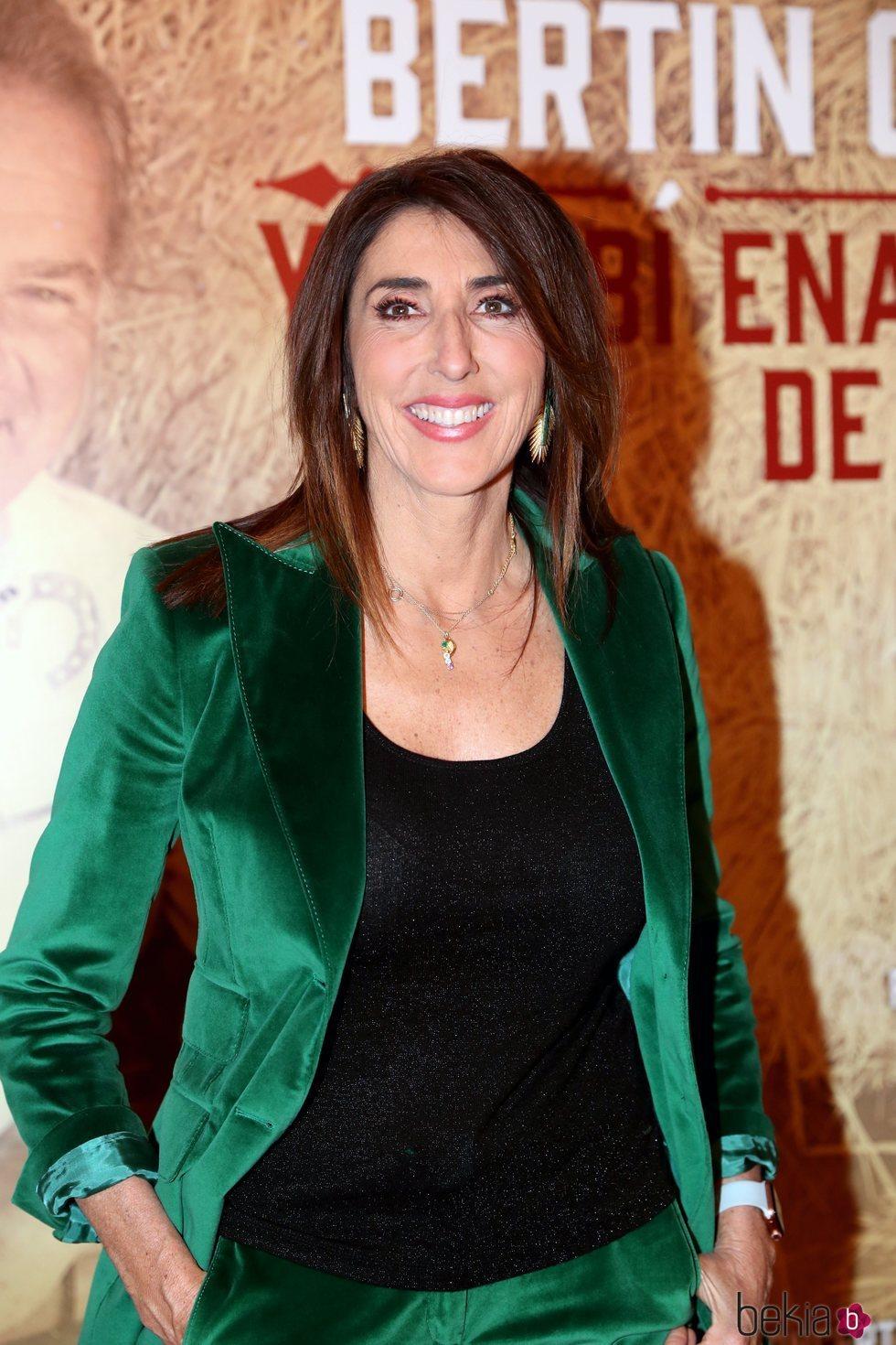 Paz Padilla en el concierto de Bertín Osborne en Madrid