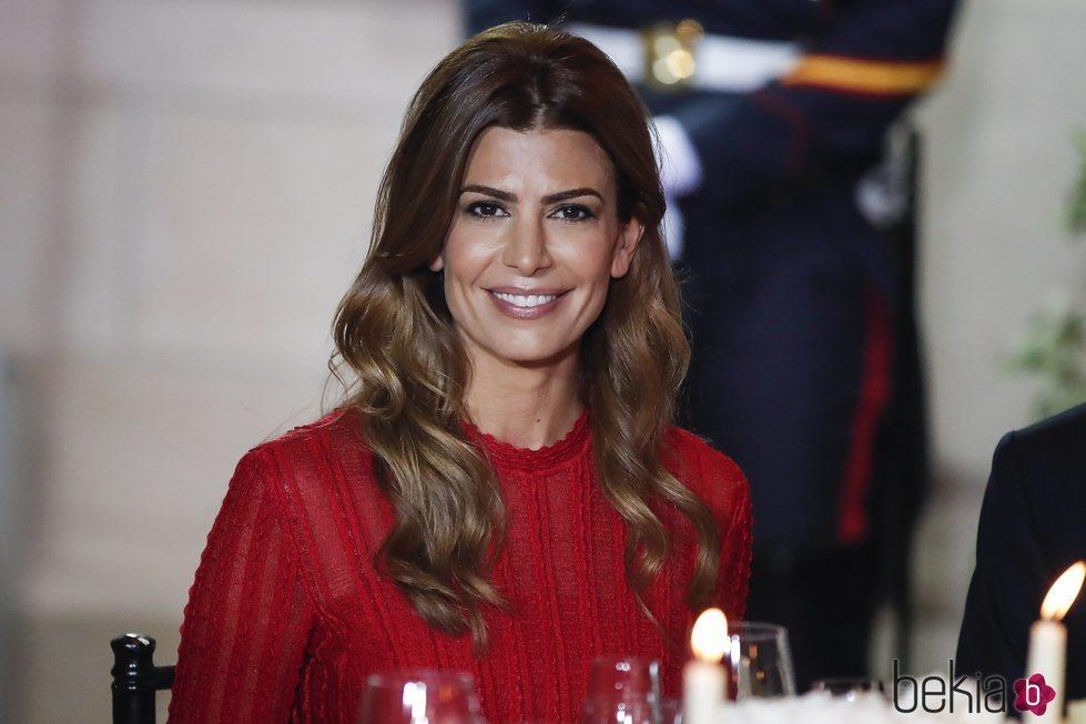 Juliana Awada en la cena de gala por el Viaje de Estado de los Reyes Felipe y Letizia a Argentina