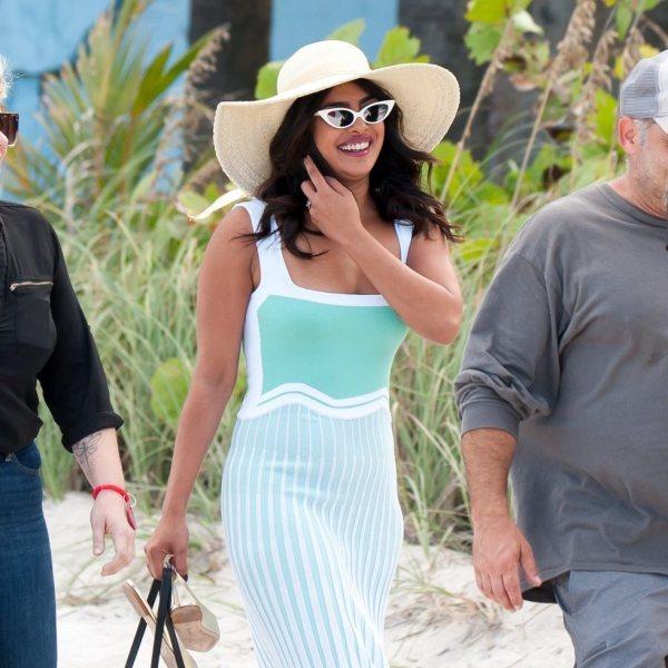 Los Jonas Brothers, Sophie Turner y Priyanka Chopra disfrutan de una jornada en alta mar