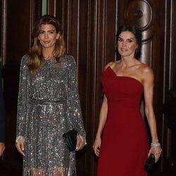La Reina Letizia junto a Juliana Awada durante el Viaje de Estado de los Reyes Felipe y Letizia a Argentina