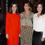 La Reina Letizia junto a Juliana Awada en la reunión con la asociación ALIBER durante el Viaje de Estado de los Reyes a Argentina
