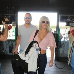 Antonio Tejado e Ylenia dejan Sevilla tras pasar unas vacaciones
