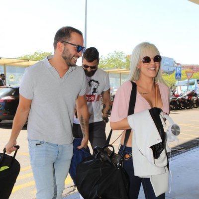 Ylenia y Antonio Tejado se van de Sevilla tras pasar unas vacaciones juntos