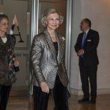 La Reina Sofía en un concierto de la Agencia EFE