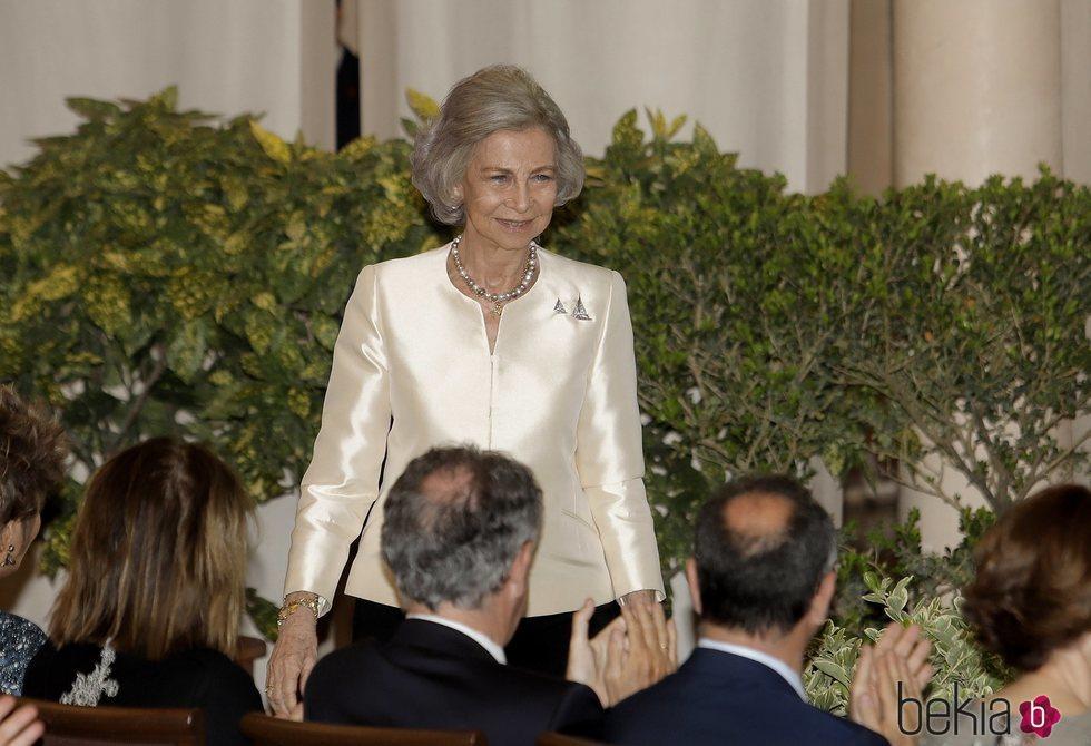 La Reina Sofía en el 50 aniversario del trofeo Princesa Sofía de vela