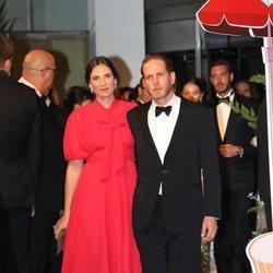 Andrea Casiraghi y Tatiana Santo Domingo en el Baile de la Rosa 2019