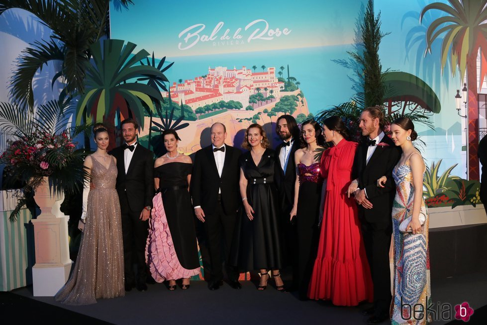 Pierre Casiraghi y Beatrice Borromeo, Carolina de Mónaco, Alberto de Mónaco, Carole Bouquet, Carlota Casiraghi y Dimitri Rassam, Andrea Casiraghi y Tatiana
