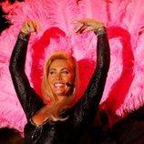 Norma Duval en uno de sus espectáculos de vedette