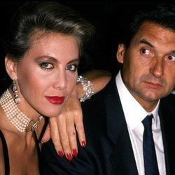 Norma Duval y su primer marido, Marc Ostarcevik