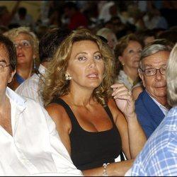 José Frade y Norma Duval en un acto público en Marbella